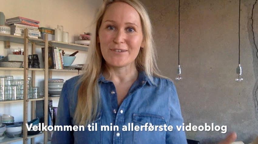 Min allerførste videoblog /vlog - se den her og leg med i legen --> Madbanditten.dk