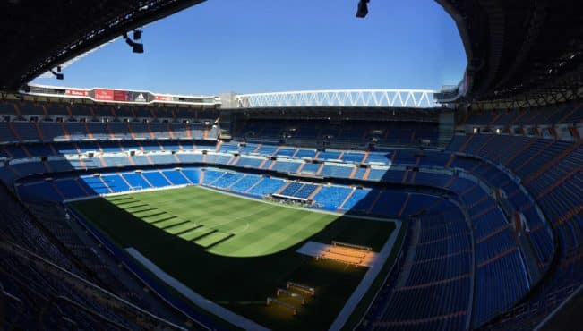 Santiago Bernabéu, Real Madrids stadion