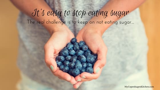 It's easy to stop eating sugar. The real challenge is to keep on not eating sugar. Conclusion from my 6 month's abstinence from sugar. Read the full story here: