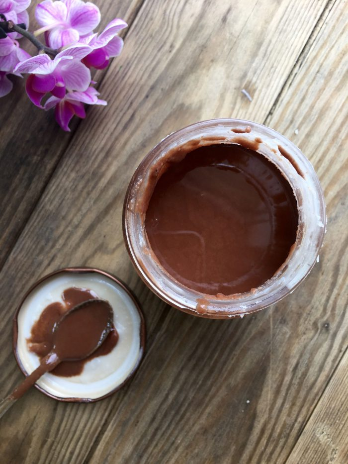 """Sukkerfri og mælkefri kokos-""""nutella"""" - helt overdrevet lækker opskrift --> Madbanditten.dk"""