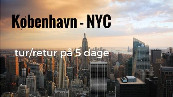 København - New York City - tur/retur på 5 dage. Læs hele beskrivelsen her: Madbanditten.dk