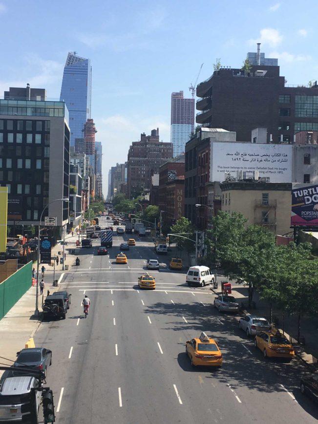 HIgh Line Park, New York. New York - forlænget weekend. Tur/retur på 5 dage.