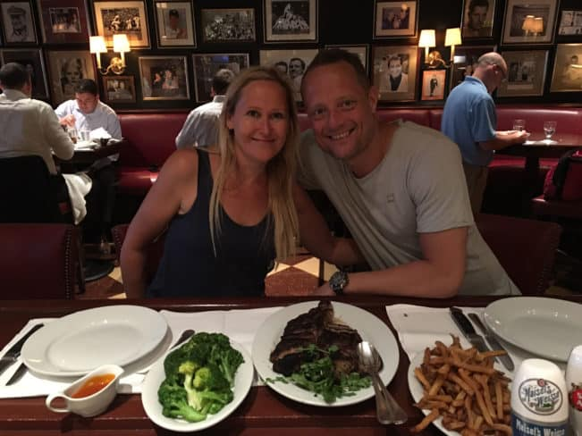 Gallagher's Steakhouse, NYC