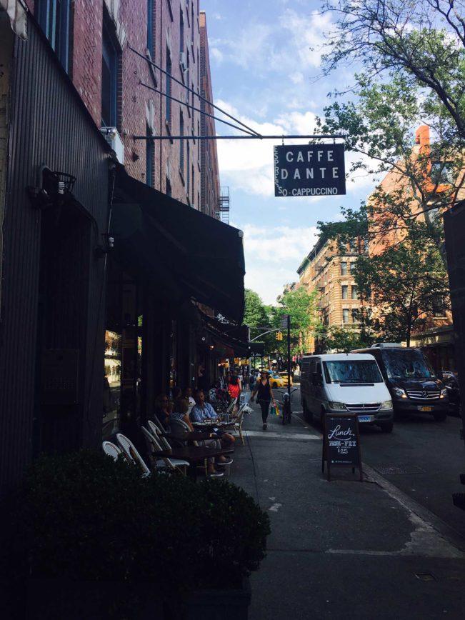 Dante's Coffee New York