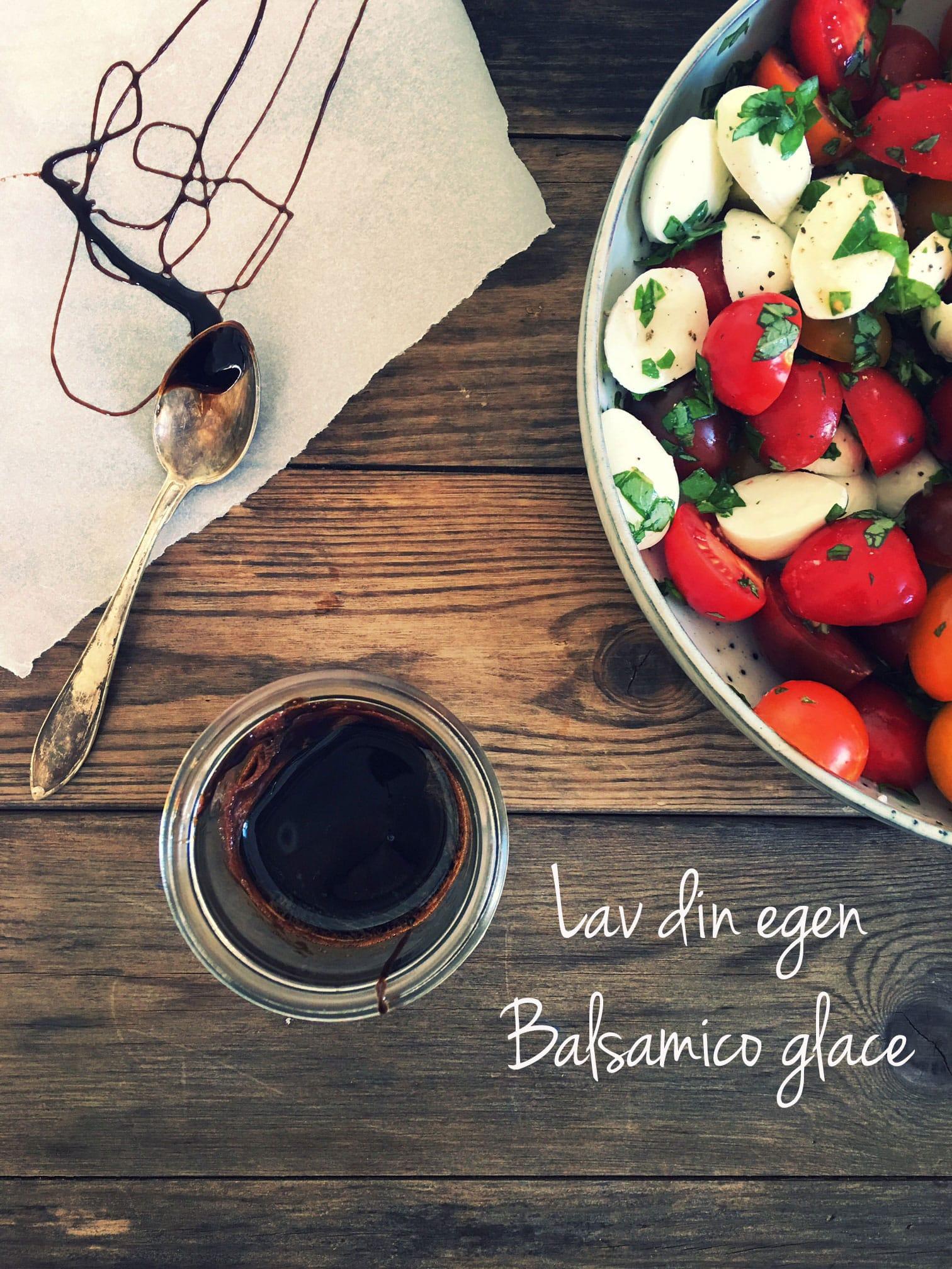 Sådan laver du din egen balsamico glace. Nemt trick, der helt sikkert vil imponere dine gæster. Se opskriften her: