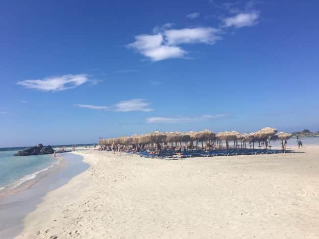 Elafonisi - nok Kretas smukkeste strand