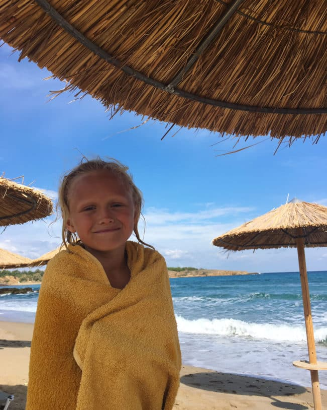 Kreta strande - Aptera Strand - Chania