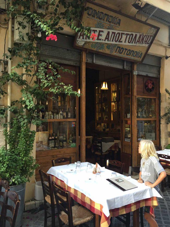 Kreta - rejsetips og gode restauranter