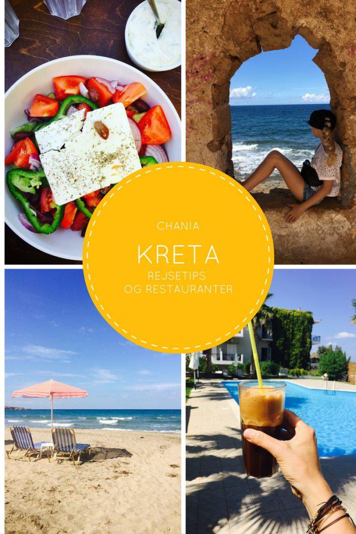Kreta - Chania - rejsetips og gode restauranter. Find masser af inspiration og billeder her: