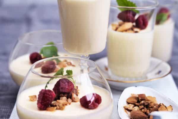 Citronfromage - lækker dessert med få kulhydrater. Sukkerfri og LCHF-opskrift