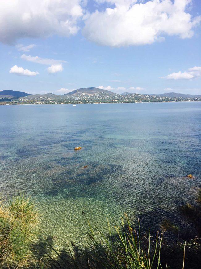 Middelhavet - tæt ved Saint Tropez