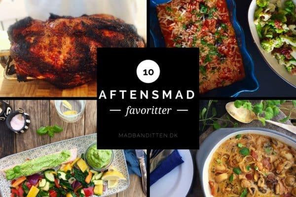 10 favoritter til aftensmaden på LCHF - de bedste og nemmeste opskrifter fra Madbanditten.dk