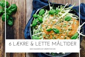 6 lækre grønne retter med masser af grøntsager - opskrifter og inspiration her: