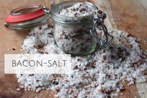 Baconsalt - opskrift på salt smagssat med bacon