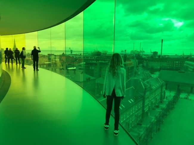 Turist i Aarhus - Aros regnbuen