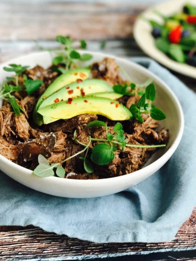 Pulled beef med mocca-choco-krydderi - lækreste opskrift på saftigt og mørt pulled beef