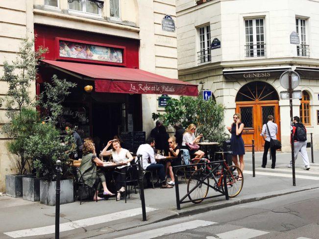 Fransk bistro, Paris