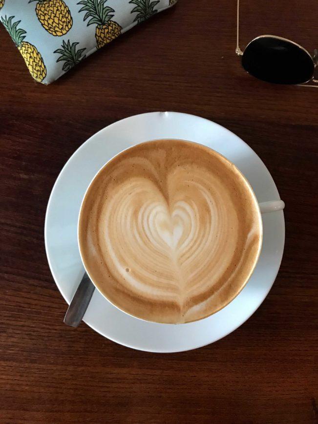Un café crème
