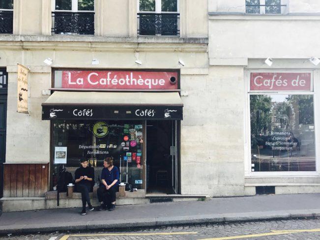 Bedste kaffebarer i Paris - La Caféothèque