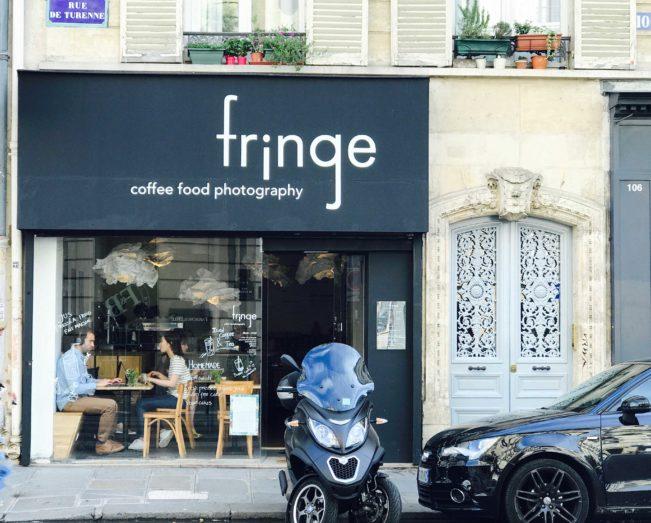 Bedste kaffebarer i Paris - Fringe