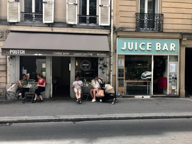 Bedste kaffebarer i Paris - Le Poutch