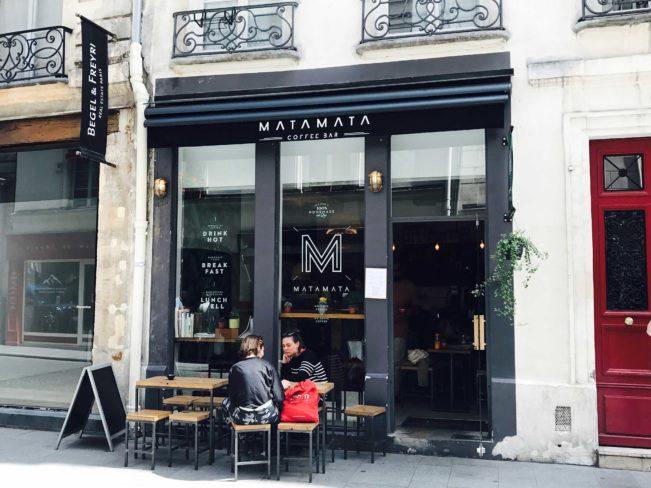 Bedste kaffebarer i Paris - Matamata