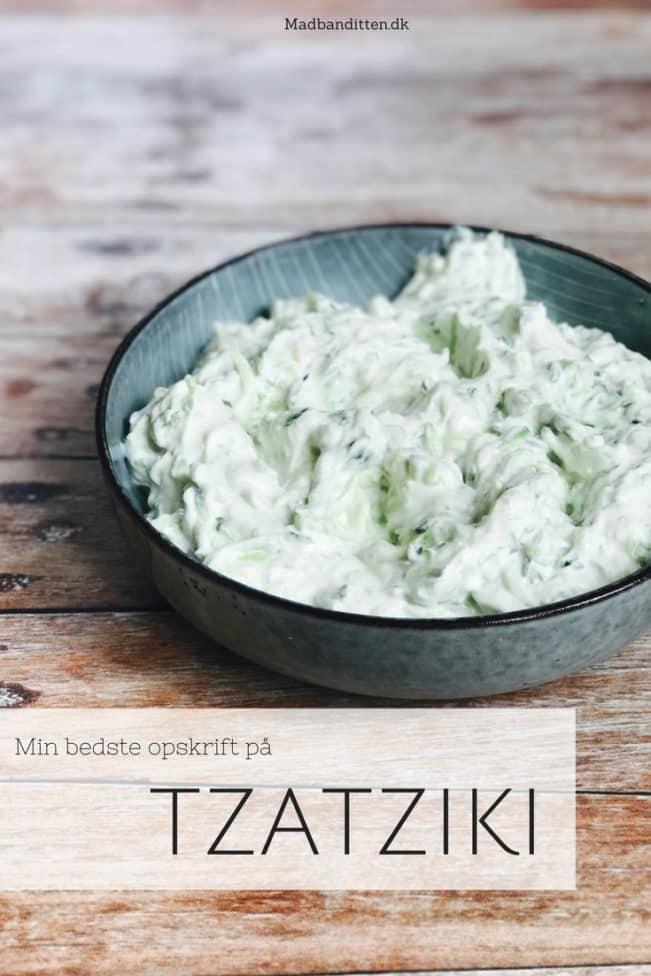 Tzatziki - den bedste opskrift på tzatziki finder du lige her.