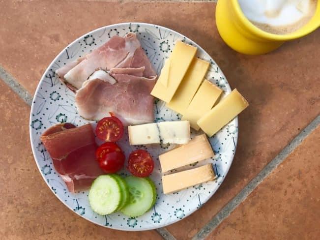 morgenmad i sydfrankrig