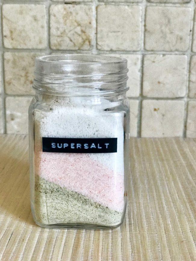 Supersalt - læs hvorfor salt er sundt og vigtigt for dig og lær at blande din egen sunde saltblanding