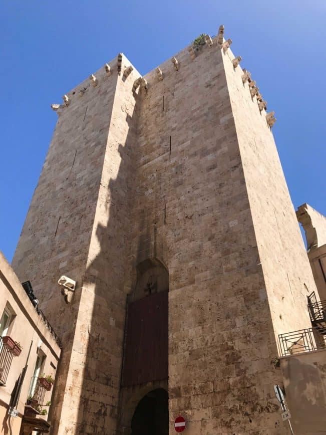 Elefanttårnet, Torre dell'Elefante, Cagliari, Sardinien