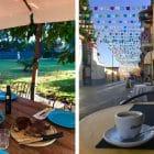 Sardinien - hyggelige byer, gode oplevelser, god mad og et link til det fine hus, vi lejede
