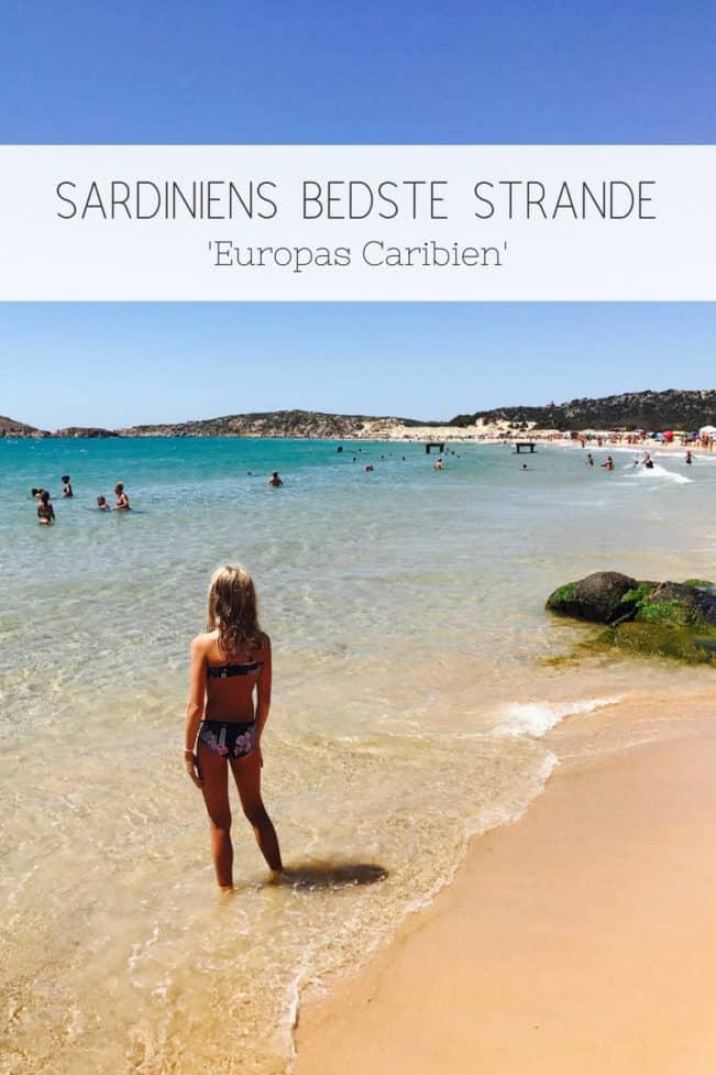 Sardiniens bedste strande - se de bedste strande på Sardinien her