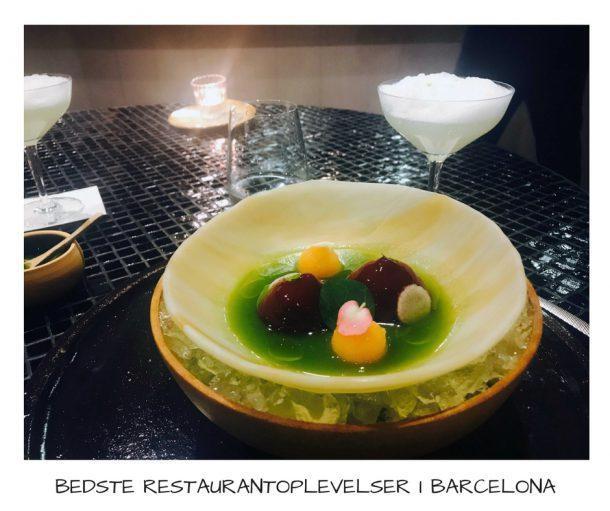 Bedste restaurantoplevelser i Barcelona - se her, hvor du skal spise på din næste tur til Barcelona