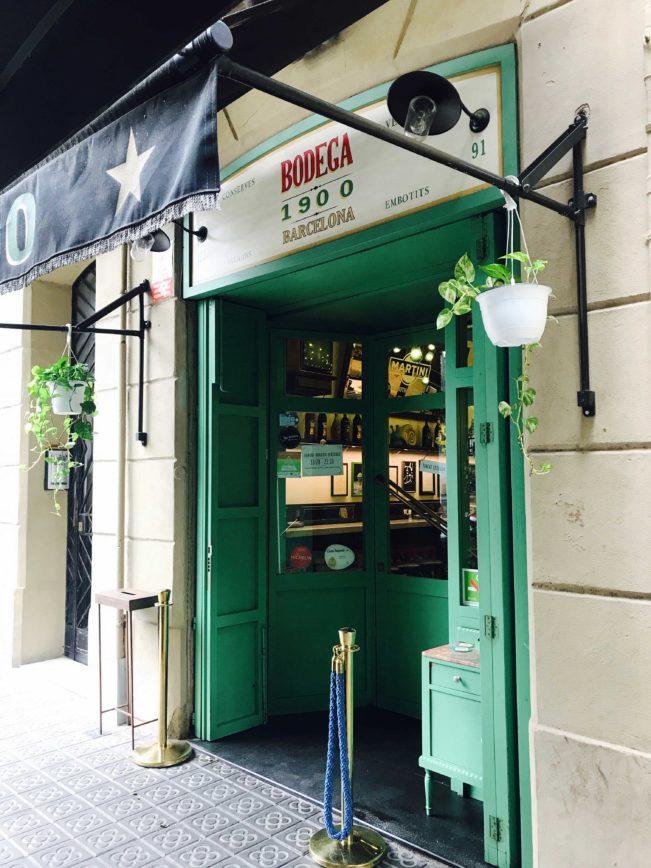 Bedste restaurantoplevelser i Barcelona - Bodega 1900