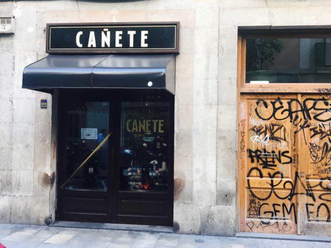Bedste restaurantoplevelser i Barcelona - Bar Cañete - Barcelona