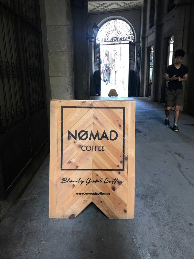 Barcelonas bedste kaffebar. Den bedste kaffe i Barcelona drikker du hos Nømad Coffee. Læs mere om det her