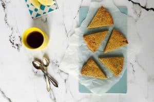 Scones med citron og birkes - lækreste opskrift på glutenfrie scones