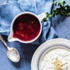 Kirsebærsauce - opskrift på hjemmelavet kirsebærsauce med meget mindre sukker