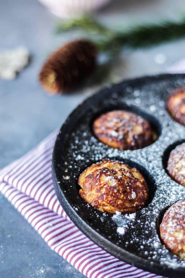 Glutenfrie æbleskiver - opskrift på sukkerfrie og low carb æbleskiver uden mel og sukker