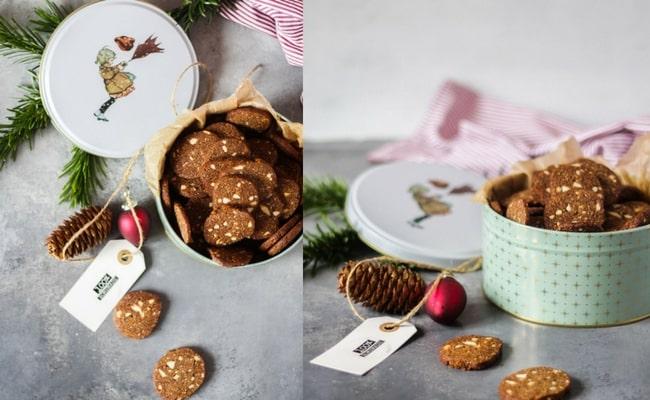 Brunkager - opskrift på glutenfrie brunkager uden sukker