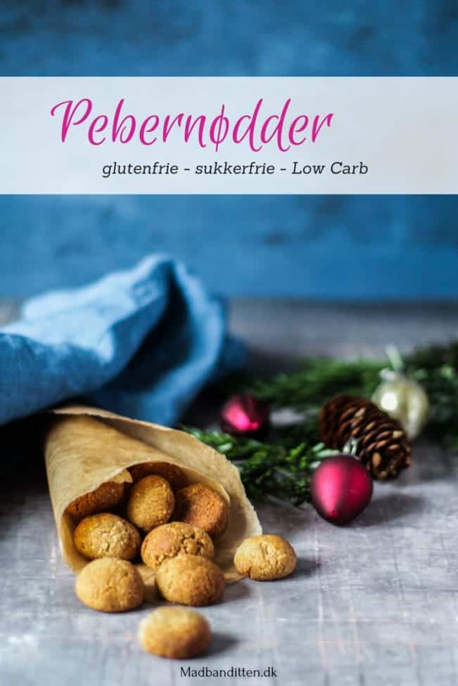 Pebernødder - ny og forbedret opskrift - glutenfri, sukkerfri og Low Carb