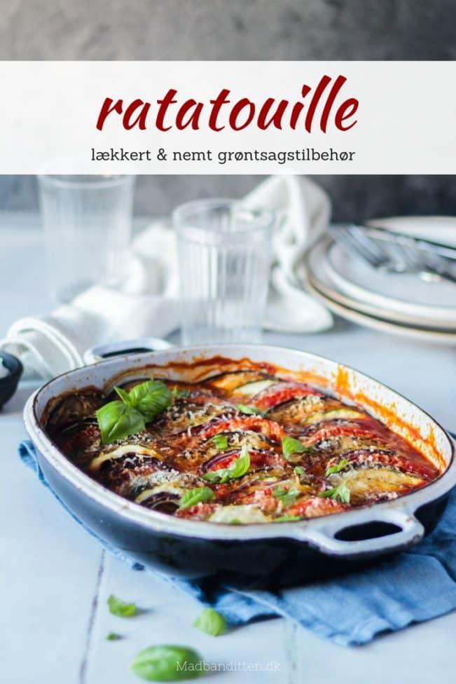 Ratatouille - opskrift på lækkert grøntsagstilbehør med dejlig Middelhavsagtig smag