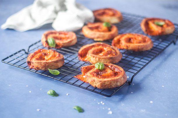 Pizzasnegle - Low Carb, LCHF, Keto, glutenfrie pizzasnegle
