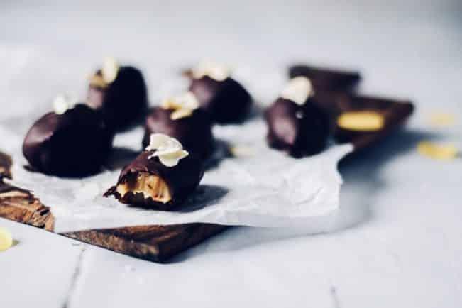 Chokoladeæg med karamel uden sukker. De ultimative LCHF påskeæg
