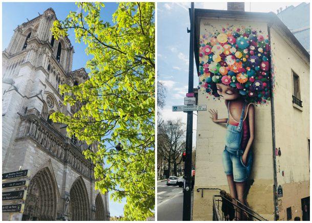 Jane alene i Paris - første uge