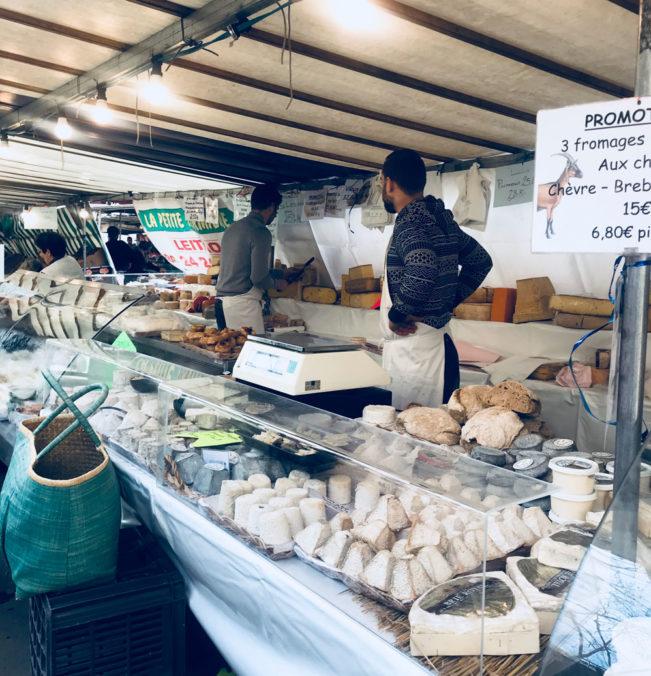 Madmarkeder i Paris - Place Monge