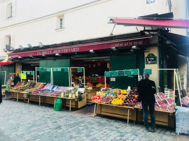 Madmarkeder i Paris - Rue Mouffetard