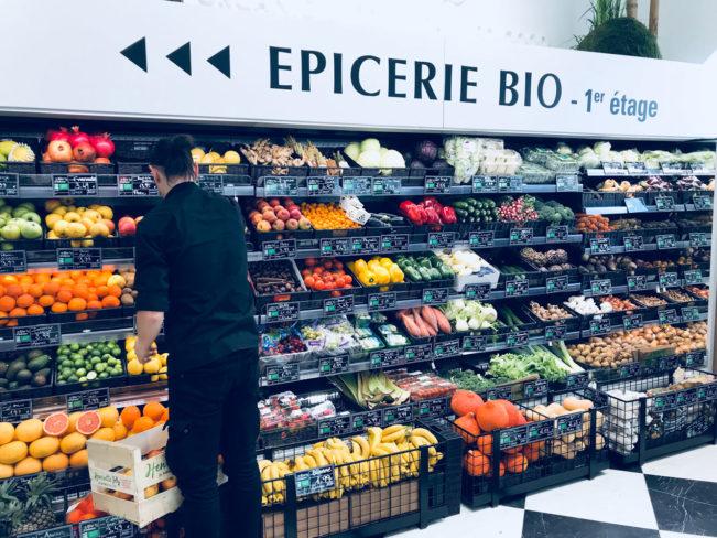 Madbutikker i Paris