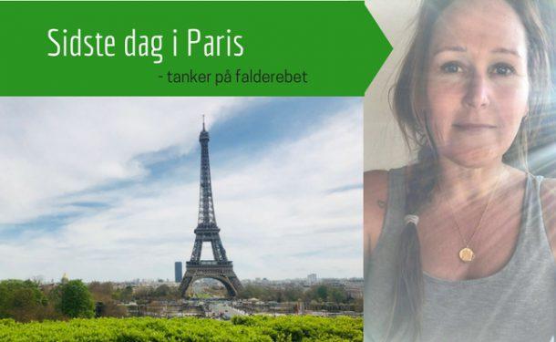 Paris - to uger alene i Paris - tanker inden hjemrejse