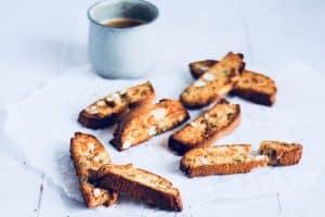 Biscotti - low carb og glutenfri opskrift på biscotti med mandelmel